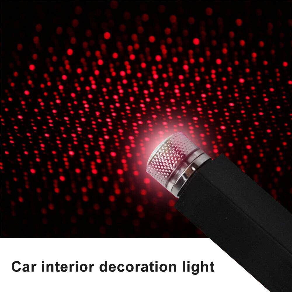 Car Roof Galaxy Star Projector Light USB Decorative Lamp Interior Lighting For Mazda 3 Axela 6 Atenza CX7 CX5 RX8 MX3 MX5 Speed