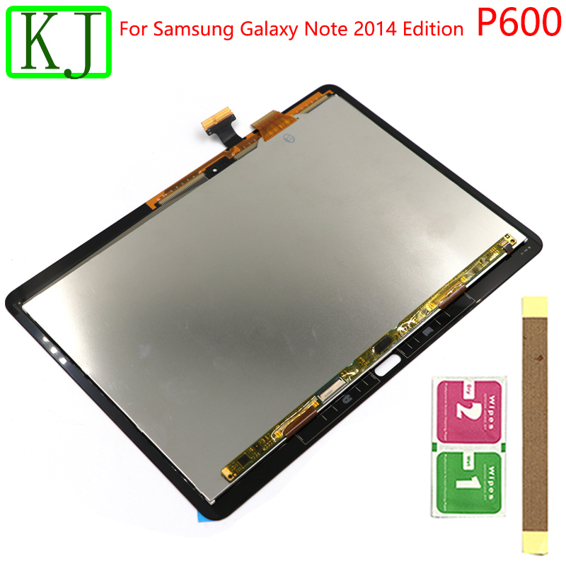 LCD Touch For Samsung Galaxy Note 10.1 P600 P601 P605 LCD Display Touch Screen Digitizer Sensor Front Glass Assembly Table