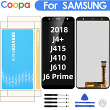 "6.0 ""LCD Voor Samsung Galaxy J4 + 2018 J4Plus J415 J415F J410 J6 Prime J6Plus J610 Lcd Touch screen Sensor(China)"