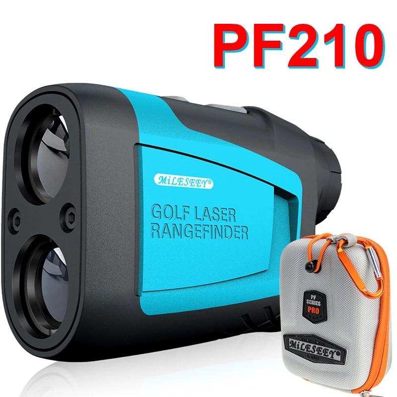 Mileseey PF210 600M Golf Laser Rangefinder Mini Golf Slope Adjusted Mode Sport Laser Distance Meter Rangefinder for Hunting