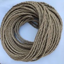 1/3/10M Vintage Rope Textile Wire 2 x 0.75 Twisted Cable Braided Light Lamp Line