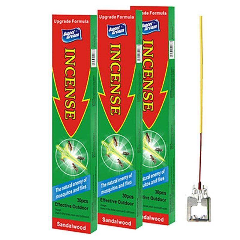 Купить ароматизатор для комаров 3 шт/лот натуральная курильница репеллент