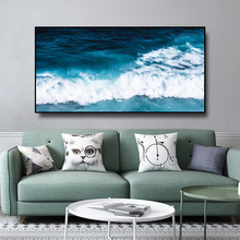 Nordic Poster Giant wave Landscape Canvas Painting Home Decor Print Wall Art Pictures For Living Room Modern Home Decoration haochu nordic landscape canvas art print painting poster modern fresh hazy plants character home wall decoration for living room