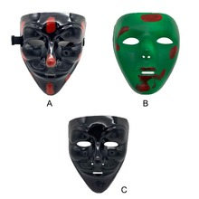 PVC Mask Hip Hop Plastic Halloween Horror Holiday Party Costume Accessories
