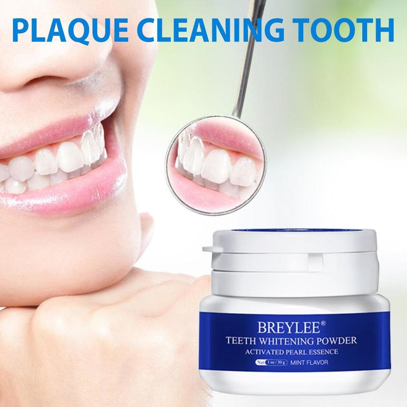 30g Tooth Whitening Powder Toothpaste Oral Hygiene White Toothbrush Cleaning Remove Plaque Stains Bleaching Dental Tools New