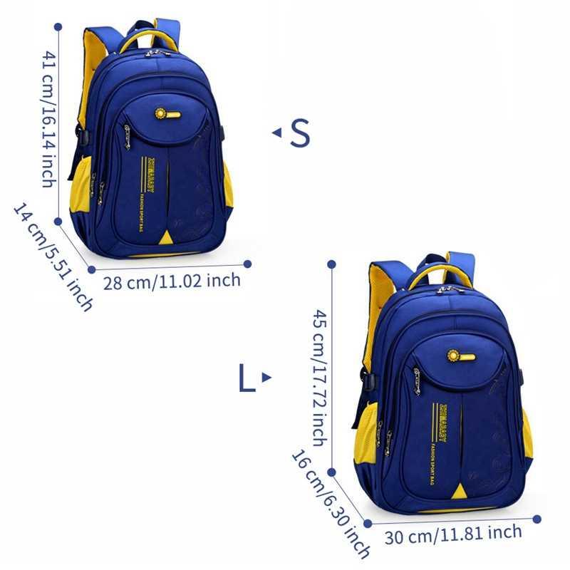 Mochila de escuela secundaria primaria 2019 mochilas de gran capacidad para estudiantes para niños niñas mochila escolar