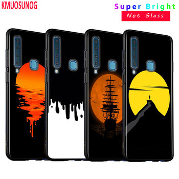 Black Silicone Cover Battery Life Cycle Fashion for Samsung Galaxy A9 A7 2018 A8 A6 Plus A5 A3 Star 2017 2016 Phone Case image