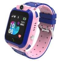 S12 pour enfants étanche montre intelligente pour enfants LBS Tracker SmartWatch SOS appel Anti perte moniteur bébé montres pour garçons/filles