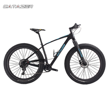 CATAZER Carbon Mountain Bike 29 Disc Brake MTB Bicycle Frame 22 Speeds Cycle With SHIMAN0 M8000