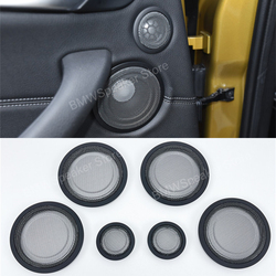 Car Door Tweeter Midrange Speakers Cover For BMW F30 F31 F34 F52 F48 F15 F16 F39Series Treble Audio loudspeaker Horn Accessories