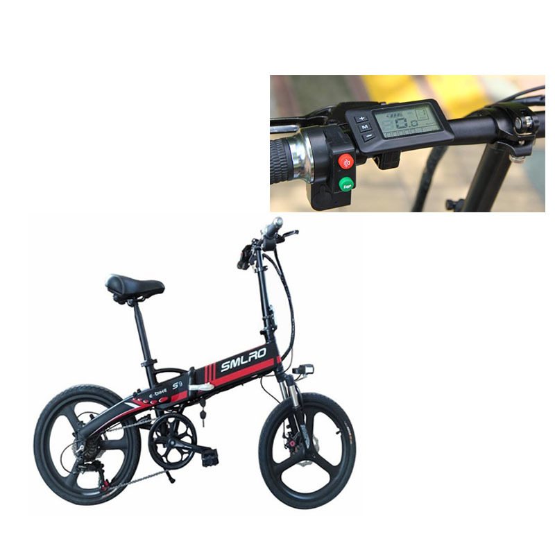 s9 ON SALE September Big sale City Bike Aluminum alloy 6061 Foldable Frame 20 inch electric bicycle 5