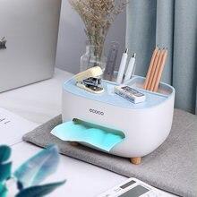 Caixa de tecido criativo guardanapo titular rosa dispensador de tecido organizador de mesa de escritório bonito caixa de armazenamento de tecido controle remoto