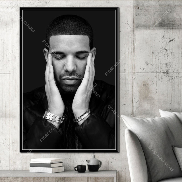 G554 Kunst Decor Travis Scott Drake J Cole Kendrick Lamar Musik Star Rap Hip Hop Heißer Rapper Wand Kunst Leinwand malerei Silk Poster