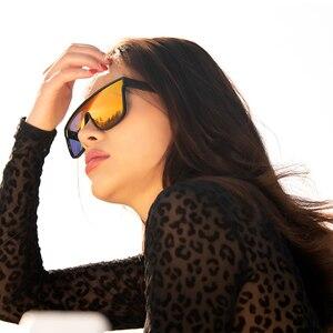 Image 3 - FENCHI nouvelles lunettes de soleil hommes femmes conduite bleu surdimensionné femme lunettes de soleil coupe vent lunettes Zonnebril Dames Oculos Feminino