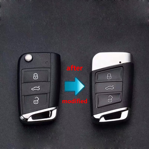 Image 5 - For VW Golf MK7 Jetta Tiguan Polo for Superb Octavia Yeti Fabia MQB Car Modified Replacement Remote Key Shell Key Case Cover