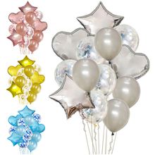 Birthday Decoration Balloon Wedding Round Confetti Ballon Heart Helium Balloons Birthday Party Decorations Adult Kids Air Globos