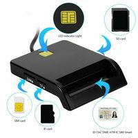USB SIM Smart Kartenleser Für Bank Karte IC/ID EMV SD TF MMC Kartenleser USB-CCID ISO 7816 für windows 7 8 10 Linux OS