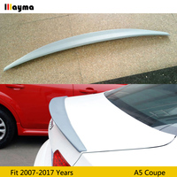 For AUDI A5 coupe 2door 07 17 CA styling rear trunk lip A5 Caractere style PU gary Primer spoiler wing (not fit sline s5 rs5)