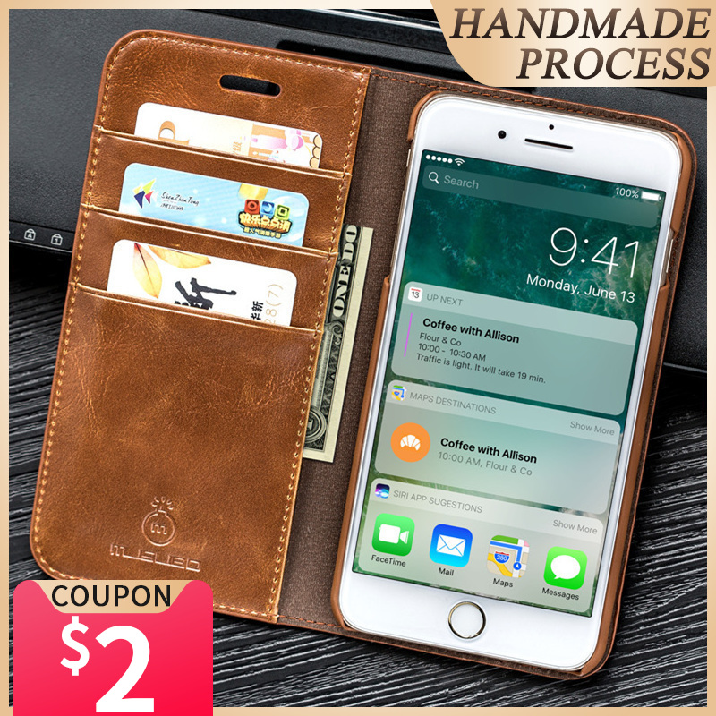 Musubo Luxury Leather Case for iPhone Xs Max 7 plus wallet phone Stand Cover For iphone 8 6 Plus 6s Plus SE 11 Pro X Cases coque