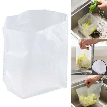 60 sztuk paczka filtr torba do odsączania zlewozmywak kuchenny sitka siatkowa torba jednorazowe worki na śmieci odpady spożywcze zbieraj zlewozmywak akcesoria tanie i dobre opinie Loriver Czosnek keepers Z tworzywa sztucznego Ce ue Ekologiczne HG16665A1 25 * 18 cm 60* garbage storage bags