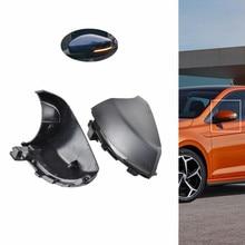 цена на For VW Volkswagen Polo MK5 6R 6C 2010 2011 2012 2013 2014 2015 2016 2017 Dynamic Blinker Mirror Indicator LED Turn Signal Light