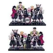 Model-Plate-Holder Acrylic-Stand Decoration Figure Anime Demon Slayer Gifts Hashira Giyuu