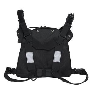 Image 4 - Abbree Chest Harness Front Pack Pouch Carry Case for Yaesu TYT Wouxun Baofeng BF 888S UV 5R UV 82 UV 9R Plus Walkie Talkie Radio
