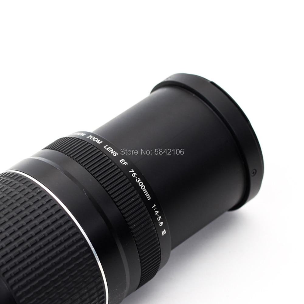 Canon camera lens EF 75-300mm F/4-5.6 III Telephoto Lenses