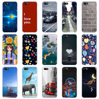 Lamocase Tpu Case For Huawei Y5 Lite 2018 Y 5 Y5Lite DRA-LX5 Cases Silicone Painted Soft TPU Cute Cover Silicone 24 Pattern image