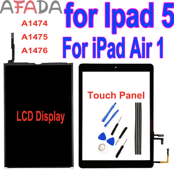 Afada iPad 5 LCD for 9.7 iPad Air 1 A1474 A1475 A1476 LCD Display Touch Screen Digitizer Replacement for iPad air iPad5 Display image