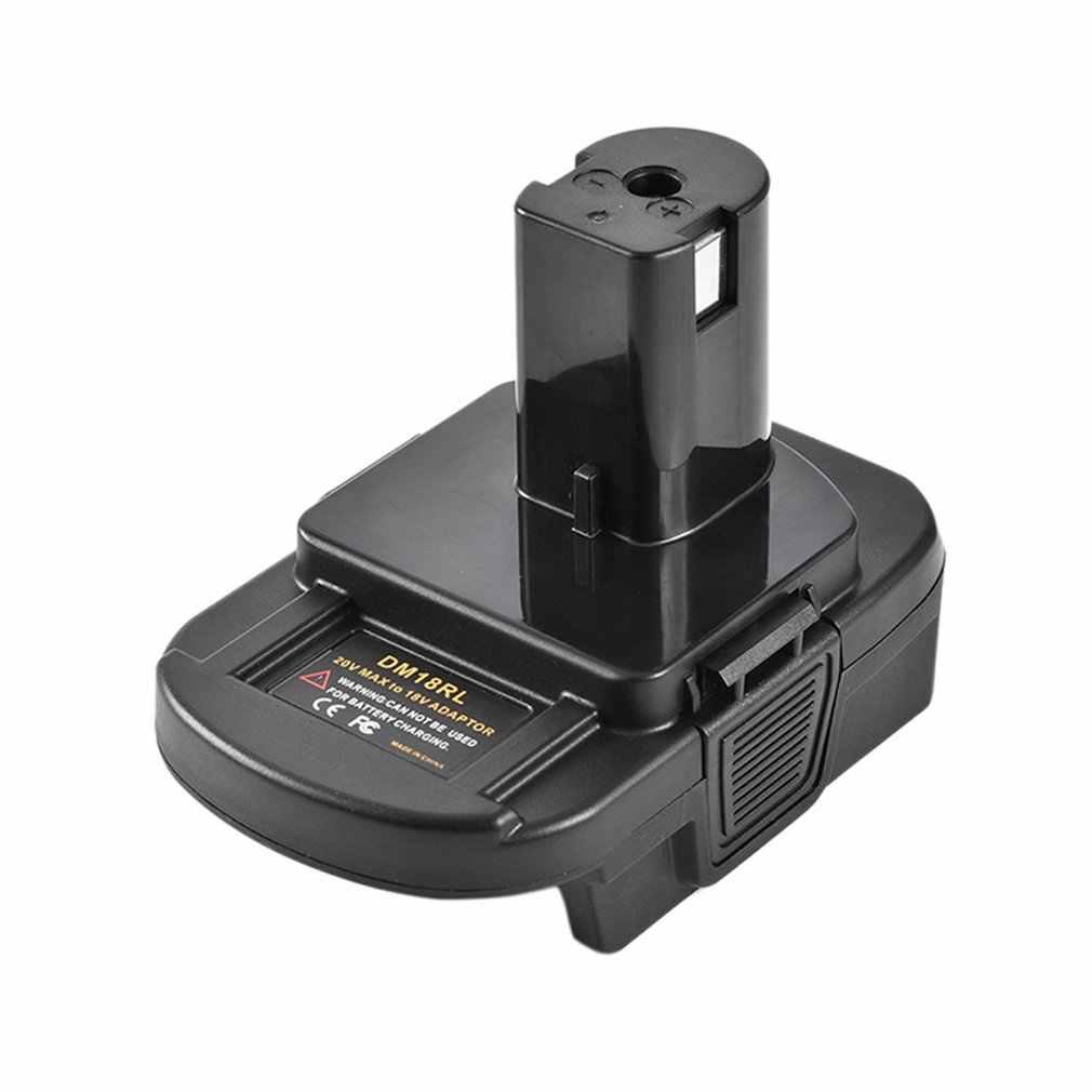 Convertidor de batería Dm18Rl adaptador de batería de 18V para adaptador de batería de herramienta Dewalt milmichael