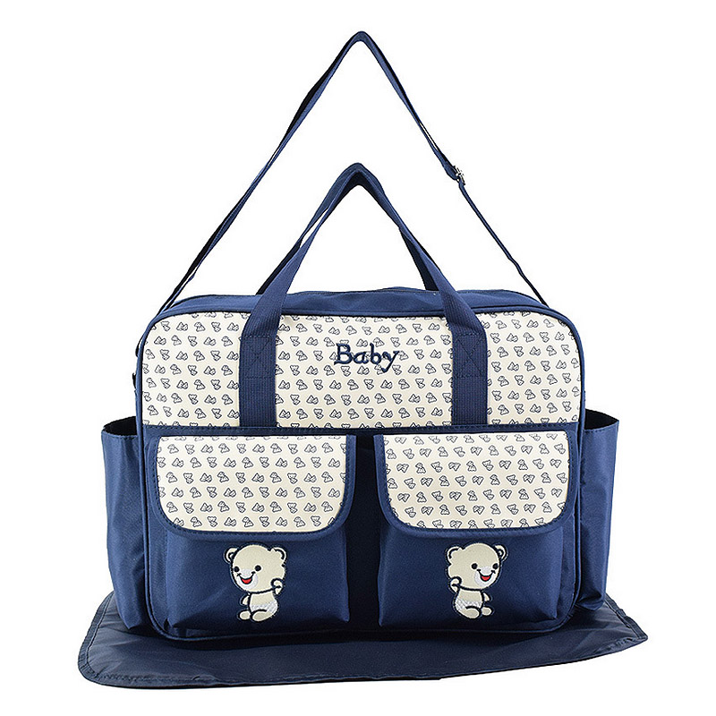 New Multifunction Mummy Maternity Nappy Bag Large Capacity Waterproof Travel Diaper Bags Maternity Nursing Hanging Storage Bag