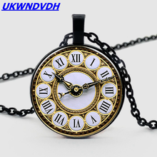 Retro watch pendant necklace new money decorated in Europe and the United States popular hot sale