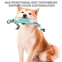 цена на Dog Chewing Toy Bones Shape Fresh Mint Clean Teeth Wear-Resistant Pet Molar Stick Chewy TPR + Rubber 2020 New Deep Cleaning