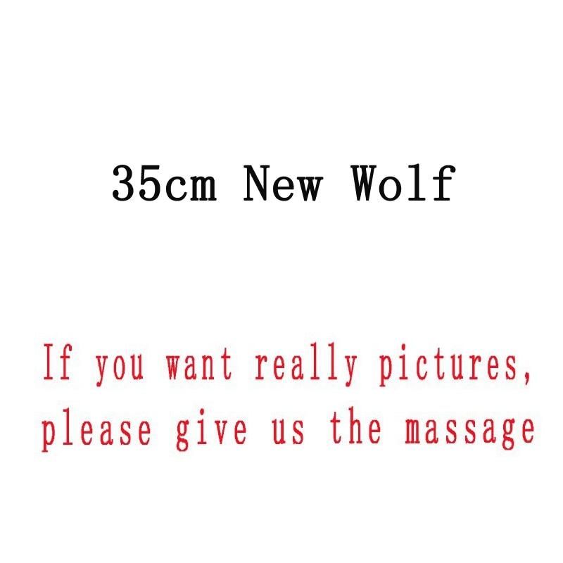 5pcs/lot Big Size 35cm New MC Wolf Plush Toys Doll Soft Stuffed Animals Toys Gifts for Children Kids