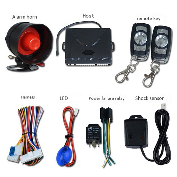 Car Alarm, On-site Alarm One-way Burglar Alarm, Universal Intelligent Burglar Alarm, Intelligent Car Anti-theft Alarm System