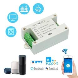 Умный wi-fi переключатель eWeLink, универсальный модуль, два канала, стандартный беспроводной переключатель, таймер, дистанционное управление че...
