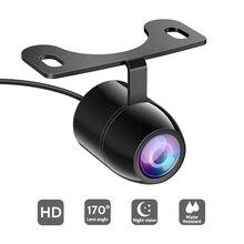 Обновленная версия HD камера заднего вида для автомобиля, камера заднего вида с углом обзора 170 градусов, парковочная камера с автоматическим передним задним монитором