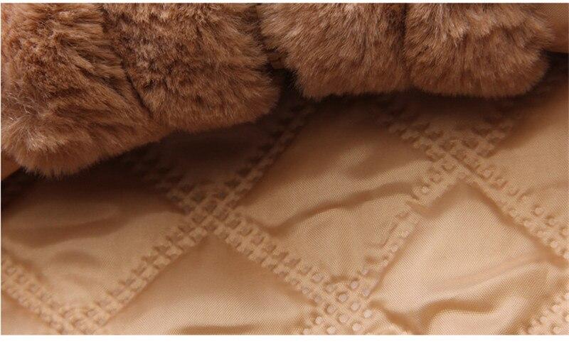Bear Faux Fur Coat