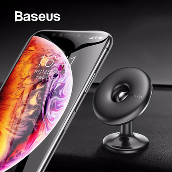 Baseus Car Holder for Cell Mobile Phone 360 Degree Air Vent Car Mount Holder Stand for iPhone X 7 Samsung Magnetic Phone Holder