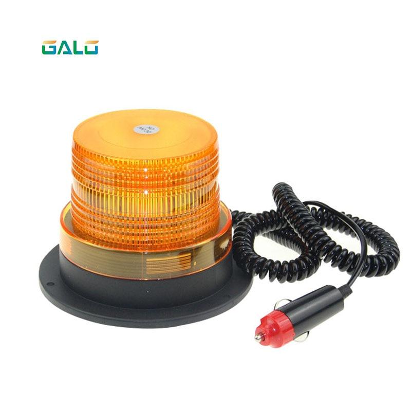 12V-24V Flashing Light Warning LED Light Safety Warning Light Car Beacon Light With Magnetic Lights LED Flashing Light Warning