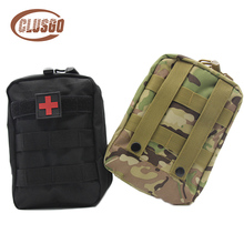 Outdoor Nylon Waist Pack Molle Pouch Tactical First Aid Kits Medical Bag Travel Camping Climbing Bag Pouch Black Emergency Case цены