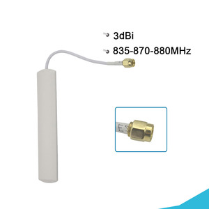 Image 3 - Band 5 Signal Repeater GSM 850 Mobile Phone Signal Booster 3G CDMA 850MHz Cell Phone Signal Amplifier LCD Display 70dB Gain Kit