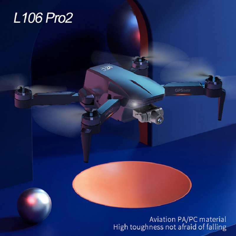 XYRC L106 Pro2 GPS Drone 4K HD Dual Camera 2-axis Gimbal Aerial Photography Brushless Foldable Quadcopter RC Distance 1200M 4