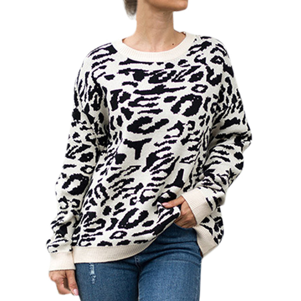 2019 Autumn Sweater Women Embroidery Knitted Winter Women Sweater And Pullover Female Tricot Jersey Jumper Pull Femme 40