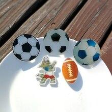 Nengdou Y64 футбольный Баскетбол футбольный бейдж пластиковые дюпеля для значки на рюкзак украшение на одежду акриловая брошь фанаты подарок
