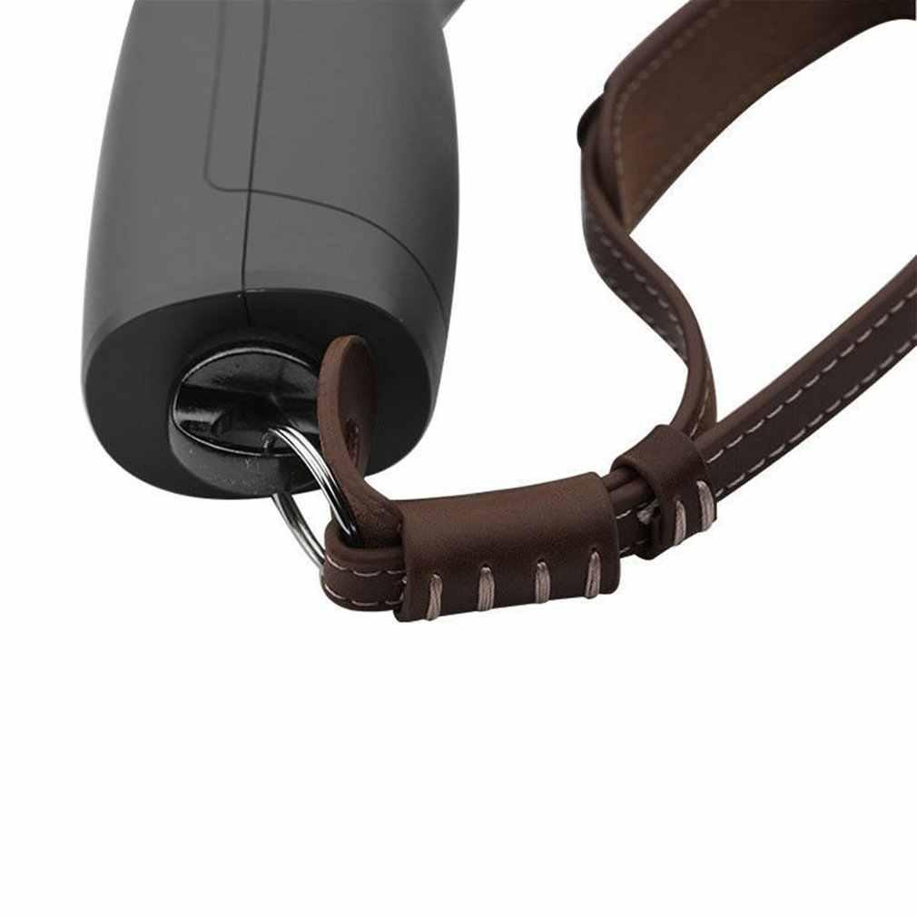 Hot PU Leather smycz liny pasek na rękę dla dji osmo mobile 2 Zhiyun gładka kardana ręczna ze śrubą 1/4 dla lustrzanka cyfrowa
