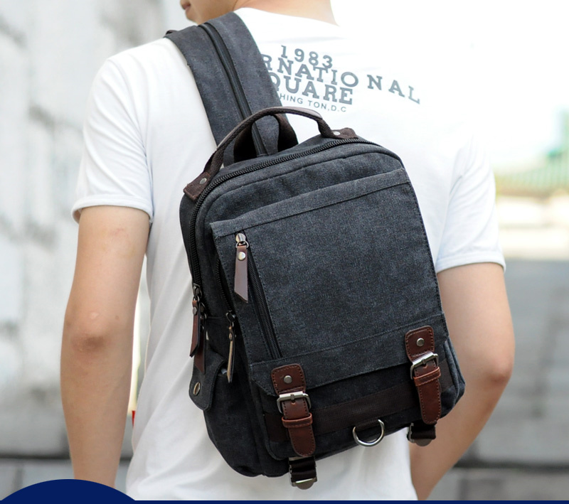 Canvas Multifunctional Backpack 45