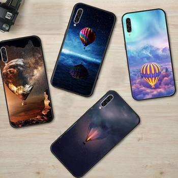 Горячий воздух воздушный шар Живопись Звезда мобильный телефон чехол для Samsung S6 S7 край S8 S9 S10 e plus A10 A50 A70 note8 J7 2017
