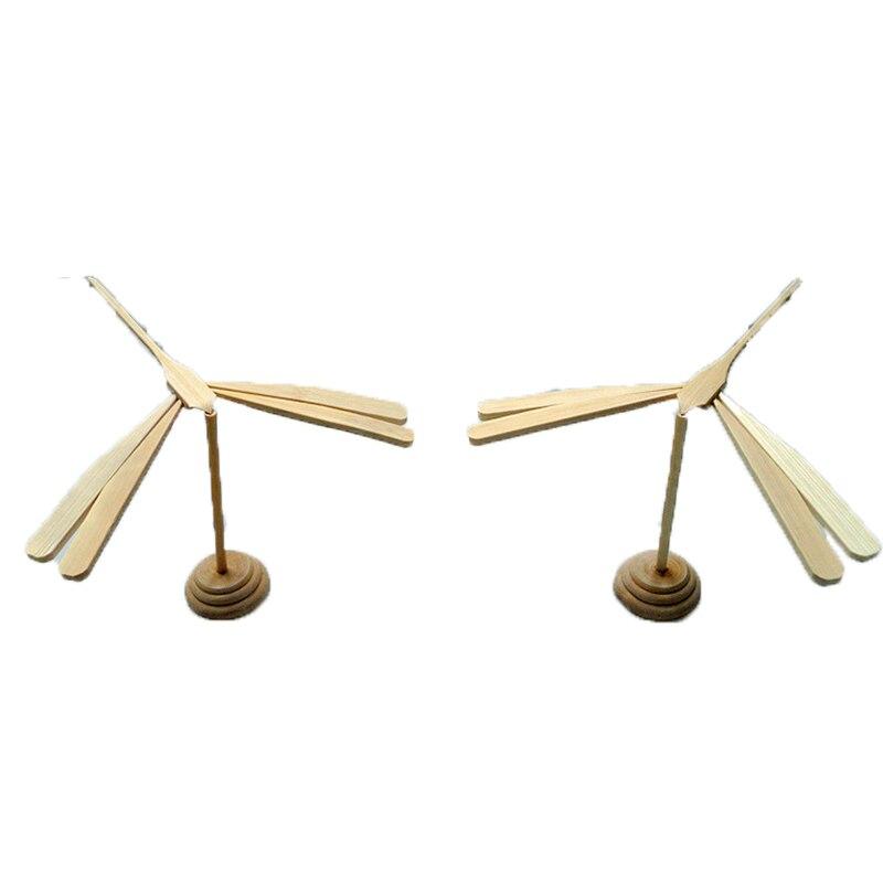 10 piezas de madera equilibrio pájaro libélula divertido águila mágica juguetes educativos niños Motor fino habilidad DIY juguetes muestra muñeca regalo Bombilla LED para lámpara foco GX53 4,2W 6W 8W 11,5W Ecola de Rusia 220V reemplazar 40W 60W 80W 100W 2 años de garantía